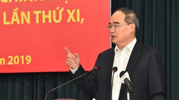 Công bố dự thảo báo cáo chính trị Đại hội đại biểu Đảng bộ TPHCM lần thứ XI ảnh 1