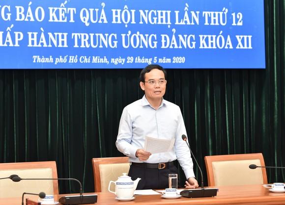 Phó Bí thư Thường trực Thành ủy TPHCM Trần Lưu Quang: Không để 'sót' người có đức, có tài ảnh 1