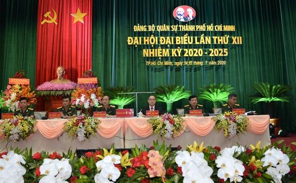 Bí thư Thành ủy TPHCM: Đề ra giải pháp đột phá xây dựng Đảng bộ Quân sự TPHCM vững mạnh, trong sạch ảnh 1