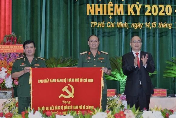 Bí thư Thành ủy TPHCM: Đề ra giải pháp đột phá xây dựng Đảng bộ Quân sự TPHCM vững mạnh, trong sạch ảnh 3