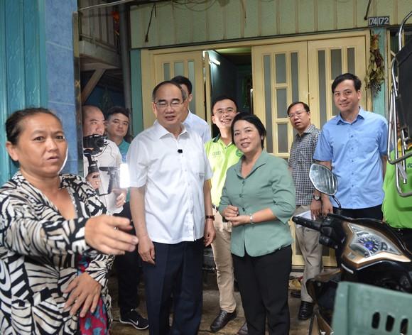 Bí thư Thành ủy TPHCM Nguyễn Thiện Nhân: Chỉnh trang chợ Gà Gạo là dự án trọng điểm trong nhiệm kỳ tới ảnh 1