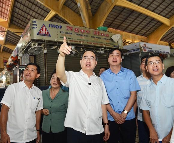 Bí thư Thành ủy TPHCM Nguyễn Thiện Nhân: Chỉnh trang chợ Gà Gạo là dự án trọng điểm trong nhiệm kỳ tới ảnh 3