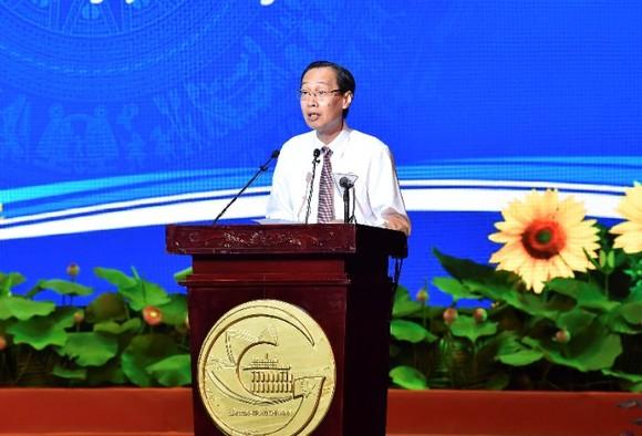 Bí thư Thành ủy TPHCM Nguyễn Thiện Nhân: Định hướng đúng, dù khó khăn người dân vẫn hưởng ứng ảnh 6