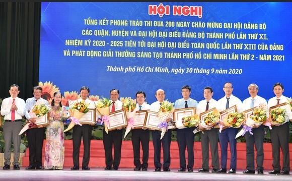 Bí thư Thành ủy TPHCM Nguyễn Thiện Nhân: Định hướng đúng, dù khó khăn người dân vẫn hưởng ứng ảnh 5