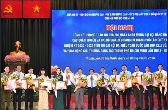 Bí thư Thành ủy TPHCM Nguyễn Thiện Nhân: Định hướng đúng, dù khó khăn người dân vẫn hưởng ứng ảnh 4