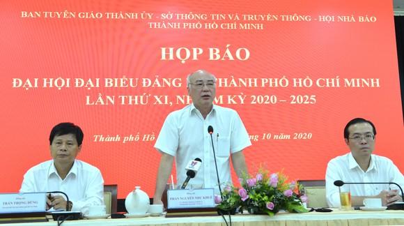 Đại hội đại biểu Đảng bộ TPHCM lần thứ XI dự kiến bầu 61 đồng chí vào Ban Chấp hành ảnh 1