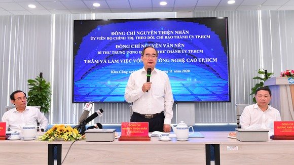 Thực hiện nhiều giải pháp thu hút đầu tư vào Khu Công nghệ cao TPHCM ảnh 1