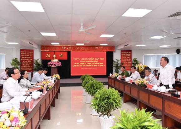 Bí thư Thành ủy TPHCM Nguyễn Văn Nên: Việc liên quan đến người dân phải bàn với dân ảnh 2