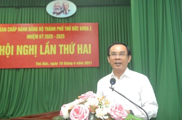 Bí thư Thành ủy TPHCM Nguyễn Văn Nên: TP Thủ Đức có điều kiện đặc thù, thì phải có cơ chế đặc thù ảnh 4