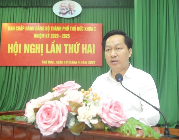 Bí thư Thành ủy TPHCM Nguyễn Văn Nên: TP Thủ Đức có điều kiện đặc thù, thì phải có cơ chế đặc thù ảnh 3