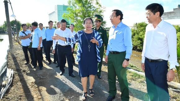 Bí thư Thành ủy TPHCM Nguyễn Văn Nên khảo sát thực tế tại huyện Cần Giờ ảnh 2