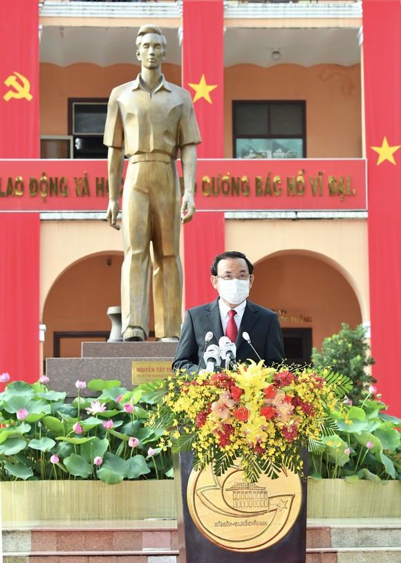 Bí thư Thành ủy TPHCM: Xây dựng không gian văn hóa Hồ Chí Minh là niềm tự hào và nghĩa vụ thiêng liêng ảnh 1