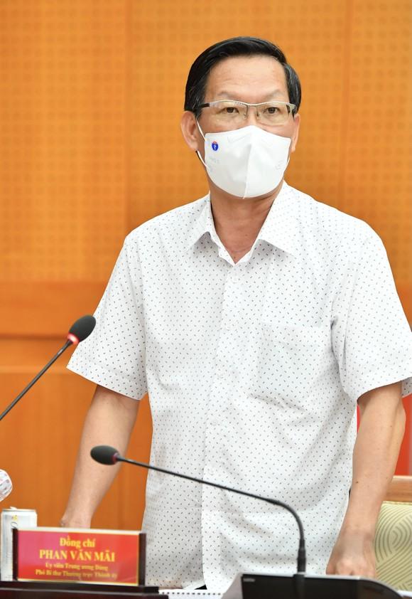 Bí thư Thành ủy TPHCM Nguyễn Văn Nên: Bình tĩnh, tự tin sớm ngăn chặn, kiềm chế, kiểm soát dịch ảnh 3