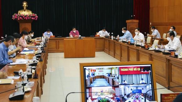 Hội nghị Ban Thường vụ Thành ủy TPHCM mở rộng đánh giá tình hình thực hiện Chỉ thị 12 của Thành ủy TPHCM
