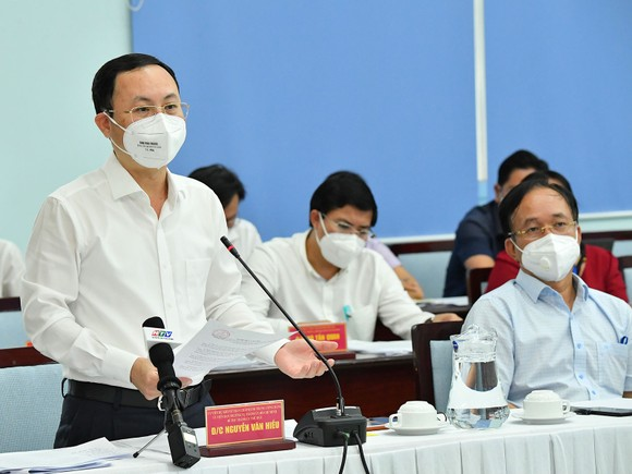 Bí thư Thành ủy TPHCM Nguyễn Văn Nên: TP Thủ Đức cơ bản kiểm soát được dịch bệnh ảnh 2