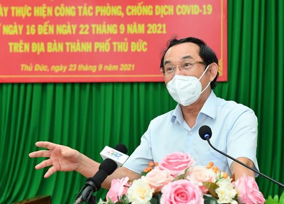 Bí thư Thành ủy TPHCM Nguyễn Văn Nên: TP Thủ Đức cơ bản kiểm soát được dịch bệnh ảnh 3