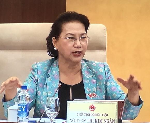 Chủ tịch Quốc hội Nguyễn Thị Kim Ngân chủ trì phiên khai mạc