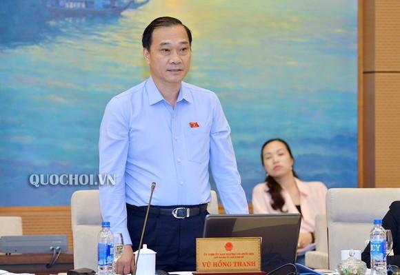 Chủ nhiệm Uỷ ban Kinh tế Vũ Hồng Thanh