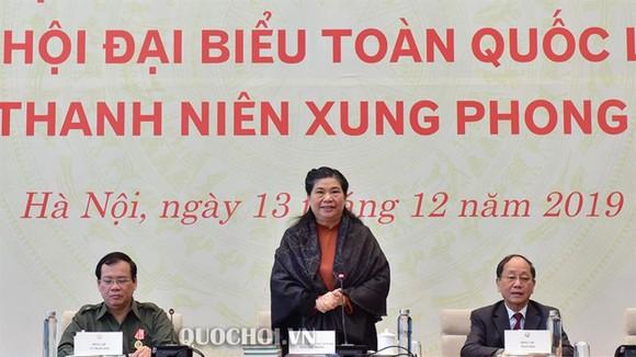 Phó Chủ tịch Thường trực Quốc hội Tòng Thị Phóng gặp mặt các đại biểu cựu thanh niên xung phong ảnh 1