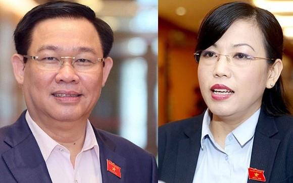 Quốc hội dự kiến sẽ miễn nhiệm Phó Thủ tướng Vương Đình Huệ và Trưởng Ban Dân nguyện Nguyễn Thanh Hải trong Kỳ họp thứ 9 sắp tới