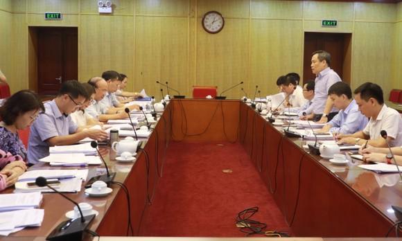 Một phiên làm việc giữa Bộ Kế hoạch và Đầu tư cùng Bộ Tư pháp về rà soát văn bản quy phạm pháp luật