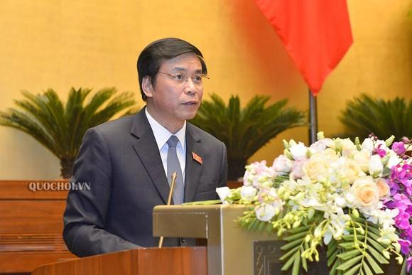 Tổng Thư ký Quốc hội - Chủ nhiệm Văn phòng Quốc hội Nguyễn Hạnh Phúc . Ảnh: QUOCHOI