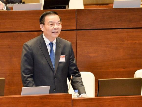 Bộ trưởng Khoa học - Công nghệ Chu Ngọc Anh trong một phiên họp của Quốc hội