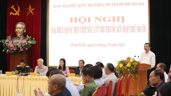 """Tiếp xúc cử tri Hà Nội, Tổng bí thư, Chủ tịch nước Nguyễn Phú Trọng: """"Lãnh đạo phải bản lĩnh, có phương pháp và đặc biệt là phải đoàn kết"""" ảnh 1"""