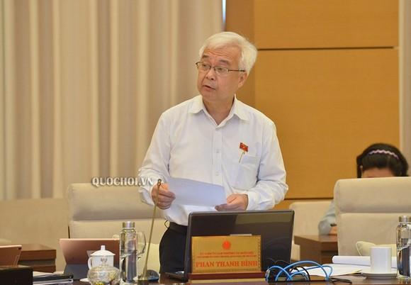 Ông Phan Thanh Bình, Chủ nhiệm Ủy ban Văn hoá, Giáo dục Thanh niên, thiếu niên và nhi đồng của Quốc hội