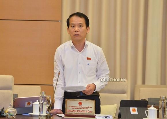 Ông Hoàng Thanh Tùng, Chủ nhiệm Uỷ ban Pháp luật của Quốc hội