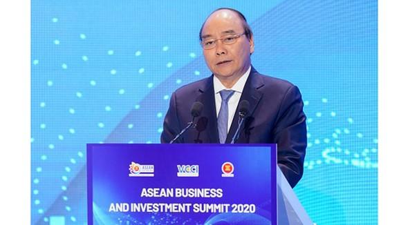 Thủ tướng Nguyễn Xuân Phúc chủ trì Hội nghị Thượng đỉnh về Kinh doanh ASEAN (ASEAN-BIS) ảnh 3