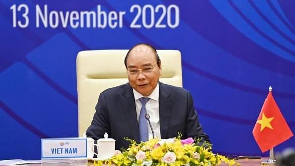 Thủ tướng Nguyễn Xuân Phúc chủ trì Hội nghị Thượng đỉnh về Kinh doanh ASEAN (ASEAN-BIS) ảnh 4