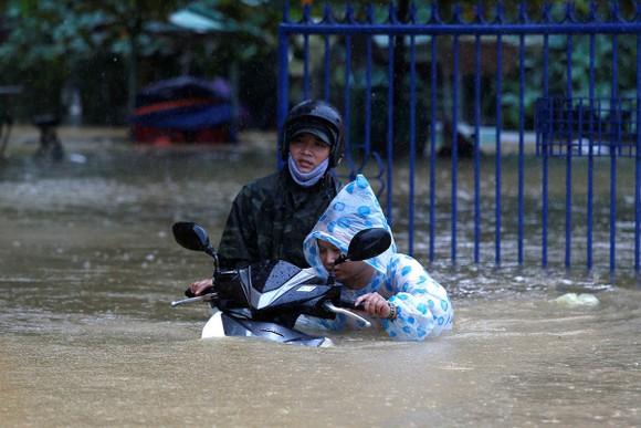Trận lũ lụt vừa qua tại miền Trung đã đạt mức nước cao kỷ lục trong nhiều năm trở lại đây