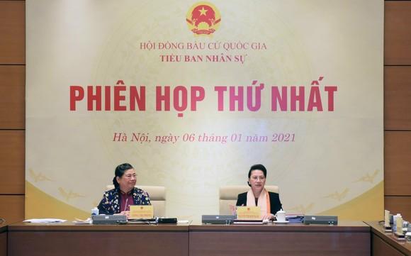 Tiểu ban Nhân sự của Hội đồng Bầu cử Quốc gia tiến hành Phiên họp thứ nhất ảnh 1