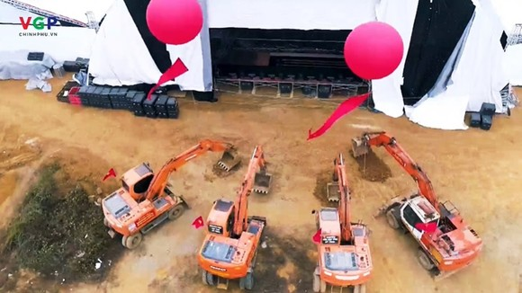 Thủ tướng bấm nút khai trương Triển lãm quốc tế đổi mới sáng tạo Việt Nam 2021 và khởi công Trung tâm Đổi mới sáng tạo Quốc gia ảnh 3