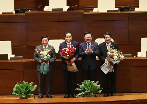Quốc hội phê chuẩn Nghị quyết về 3 Phó Chủ tịch Quốc hội mới ảnh 1
