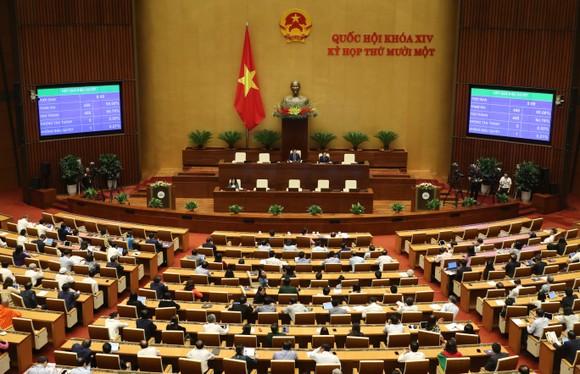 Quốc hội phê chuẩn Nghị quyết về 3 Phó Chủ tịch Quốc hội mới ảnh 3