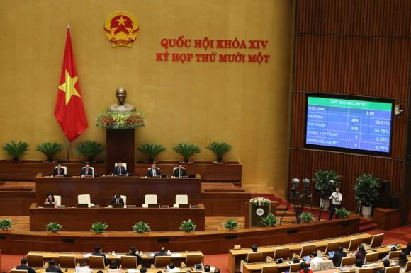 Hai Phó Thủ tướng và 12 Bộ trưởng vừa được Quốc hội phê chuẩn ảnh 2