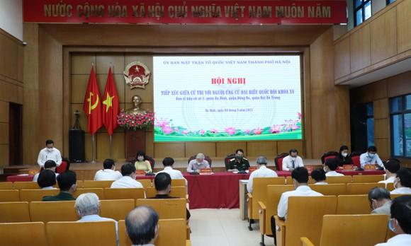 Tổng Bí thư Nguyễn Phú Trọng tiếp xúc trực tuyến với hơn 2.400 cử tri   ảnh 1