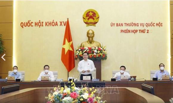 Ủy ban Thường vụ Quốc hội khai mạc phiên họp thường kỳ đầu tiên ảnh 1