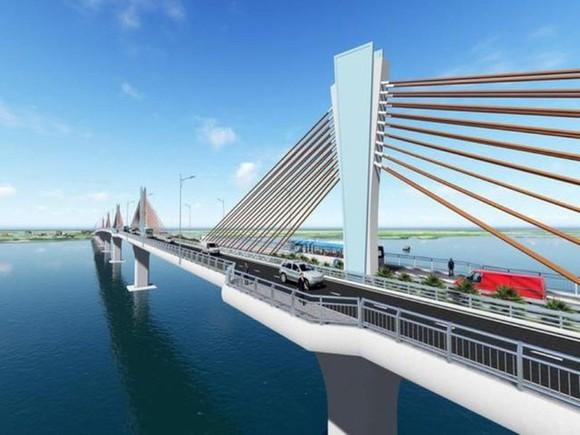 Cầu Đại Ngãi trên Quốc lộ 60 nối Sóc Trăng với Trà Vinh sẽ được đầu tư bằng nguồn vốn ODA Nhật Bản. Ảnh minh hoạ