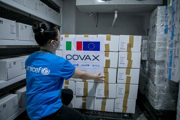 Việt Nam tiếp nhận 1.484.060 liều vaccine  Covid-19 do Pháp và Italia hỗ trợ ảnh 1