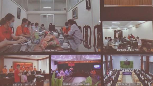 TPHCM vận hành thử phần mềm hỗ trợ công tác bầu cử ảnh 1