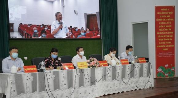 Ứng cử viên Nguyễn Thành Phong: Nâng cao chất lượng công tác quy hoạch ảnh 1