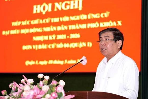 Chủ tịch UBND TPHCM Nguyễn Thành Phong: Công tác phòng chống dịch vẫn là nhiệm vụ hàng đầu của TPHCM ảnh 3