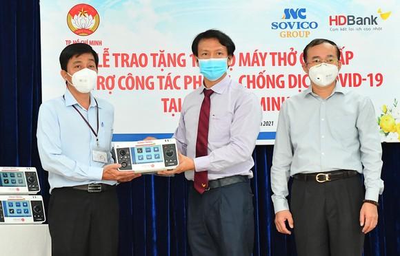 TPHCM tiếp nhận 100 máy thở cao cấp trị giá 30 tỷ đồng ảnh 3