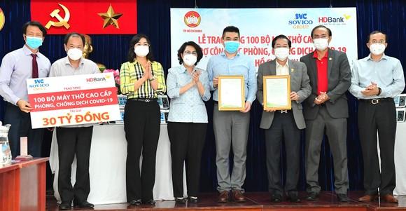 TPHCM tiếp nhận 100 máy thở cao cấp trị giá 30 tỷ đồng ảnh 1