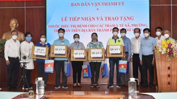 TPHCM tiếp nhận 10.320 phần thuốc điều trị bệnh trị giá 1,548 tỷ đồng ảnh 1
