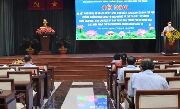 Phó Thủ tướng Vũ Đức Đam: Quận Phú Nhuận cần đổi mới cách xét nghiệm  ảnh 4
