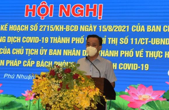 Phó Thủ tướng Vũ Đức Đam: Quận Phú Nhuận cần đổi mới cách xét nghiệm  ảnh 5